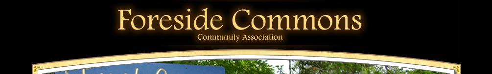 Foreside Commons, Community Association
